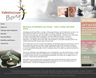 Kaleidoscope Being - Website Design by Mc Designs