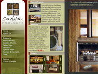 Sandstone Projects - Website Design by Mc Designs